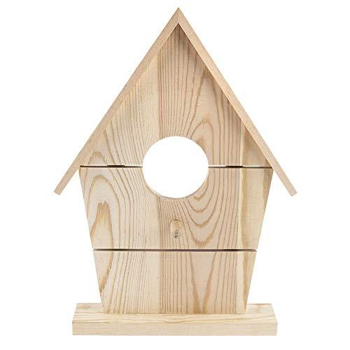 Mangeoire décorative en bois à poser | 25,6 cm x 18,5 cm x 3,1 cm