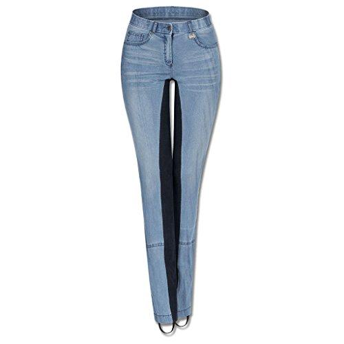 WALDHAUSEN (AL) Jeans-Jodhpurreithose Harmony, blau/nachtblau, Gr, blau, blau/nachtblau, 38