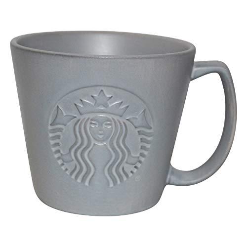 Starbucks - Taza (355 ml), color gris