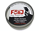 Forj Thermoplastic Tape Ribbon, 20 Feet of Lightweight, Compact Resin Fiber with 1000 Poun...