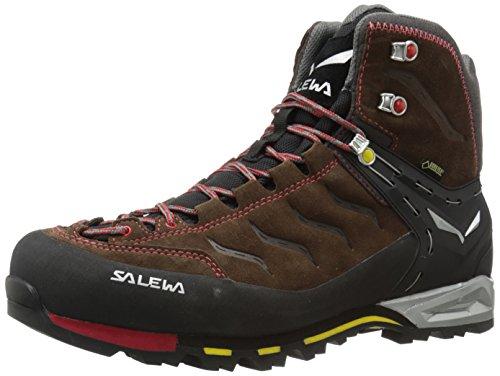 Salewa Herren Trekking- und Wanderstiefel MS MTN Trainer Mid GTX, Braun (7551 Brown/Yellow), 44.5 EU