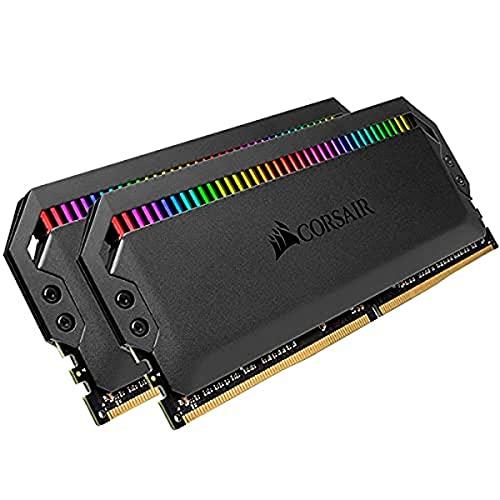 CORSAIR DOMINATOR PLATINUM RGB 32 GB (2 x 16 GB) DDR4 3200 (PC4-28800) C16 1,35 V AMD Optimized Memory-Black