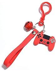 Trwały uchwyt na kontroler do gier wideo z PCV uchwyt brelok do kluczy, torba dekoracyjna, gracz, kółko na klucze, akcesoria do zabawy, modna biżuteria
