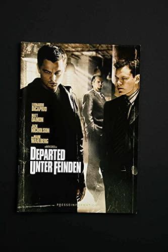 Departed - Unter Feinden - Leonardo DiCaprio - Matt Damon - Presseheft