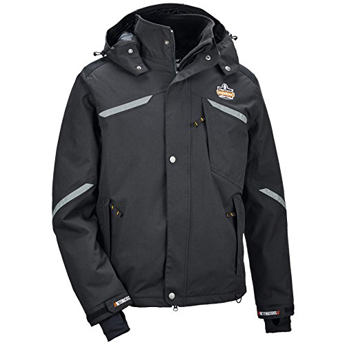 Ergodyne N-Ferno® 6466 Thermal Jacket, Black, L