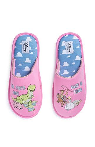 Disney Toy Story 4 - Zapatillas para mujer, color rosa, color Rosa, talla Medium