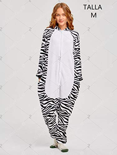 KRAZY TOYS Pijama Animal Entero Unisex Adultos como