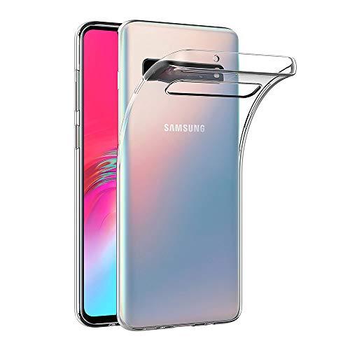 AICEK Hülle Compatible für Samsung Galaxy S10 5G Transparent Silikon Schutzhülle für Samsung S10 5G Hülle Clear Durchsichtige TPU Bumper Galaxy S10 5G Handyhülle (6,7 Zoll)