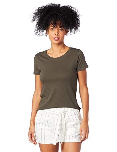 Camiseta Básica, Hering, Feminino, Verde, P