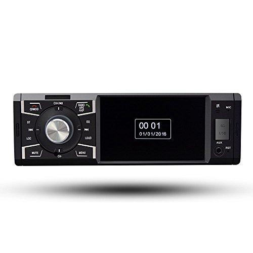 Boomboost multifonction de voiture lecteur MP5 radio stéréo Bluetooth de voiture 12 V USB/FM audio écran tactile