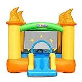 AFDK Hüpfburgen Kinder aufblasbare Rutschen Kinderspielzeug Außen Vergnügungspark Hüpfburg Kindergarten Kinder Trampolin Oxford Cloth aufblasbare Trampoline,236 * 279 * 213cm