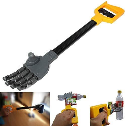 F-blue Plastica Artiglio della Mano del Robot Grabber Grabbing Bastone di Kid Claw Mano Boy Toy Polso della Mano Rafforzare Fai da Te Robot Grab