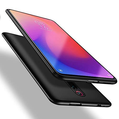 X-level für Xiaomi Mi 9T Pro Hülle, für Xiaomi Mi 9T Hülle, [Guardian Serie] Soft Flex TPU Hülle Superdünn Handyhülle Silikon Bumper Cover Schutz Tasche Schale Schutzhülle für Mi 9T/9T Pro - Schwarz
