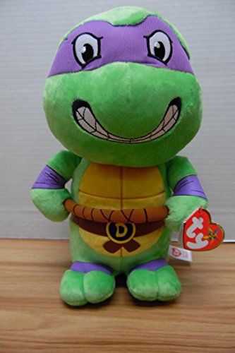 Ty TY37085 Donatello Teenage Mutant Ninja Turtles 10' Medium Sized Plush