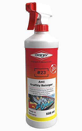 Geiger Chemie Nr. 23 Anti-Graffity Reiniger 500ml Flasche