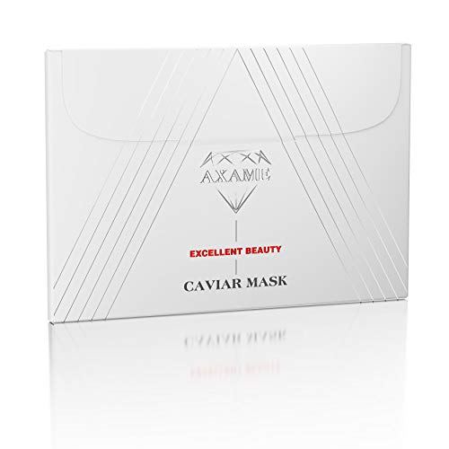 Axame - Face Mask Premium Moisturising Hypoallergenic Antiage Antiwrinkle with Caviar Serum 25 ml