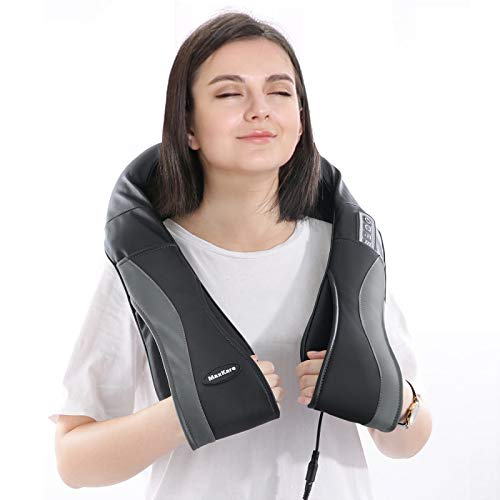 Massaggiatore Cervicale Schiena Massaggiatore elettrico Massaggio Spalle Shiatsu Rilessa i Muscoli della Cervicale e la Fascia Lombare Gambe Braccio Donando un Dolce Sollievo in Casa Che in Ufficio