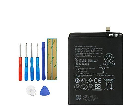 Upplus HB396689ECW - Batería de repuesto compatible con Huawei Ascend Mate 9, Mate 9, MHA-L09 MHA-L29 MHA-TL00 con kit de herramientas