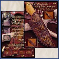 Custom Knife Sheaths with Chuck Burrows (Dvd)