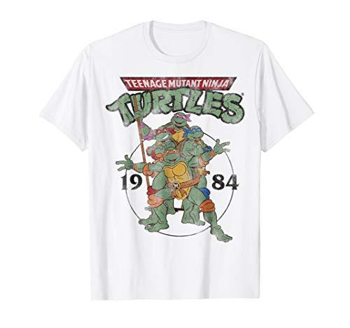 Teenage Mutant Ninja Turtles Classic Circle 1984 Tee-Shirt