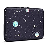 Laptop Sleeve, iCasso 13-Inch Stylish Soft Neoprene Sleeve Case Cover Bag for MacBook Air/Pro/Retina 13 Inch/iPad Pro(Starry Sky)