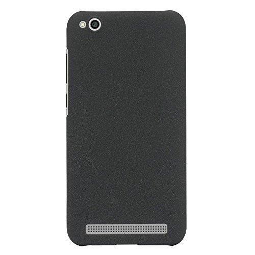 ARTILVST Xiaomi Redmi 5A Funda,Ultra Fino Medio rodeó la Estructura de Superficie Mate Durable PC Protector teléfono Funda para Xiaomi Redmi 5A Smartphone [Negro]