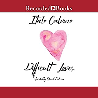 Difficult Loves                   By:                                                                                                                                 Italo Calvino                               Narrated by:                                                                                                                                 Edoardo Ballerini                      Length: 7 hrs and 42 mins     1 rating     Overall 4.0