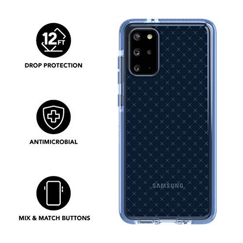 tech21 Evo Check Schutzhülle für Samsung Galaxy S20 5G, mit Sturzschutz und antimikrobiellem BioShield, Galaxy S20, Gelassenheit