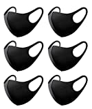 SERENITA 6 Pack Face Cover Mask. Outdoor Working Out Sports Mask. Airsoft Protective. Unisex Washable Reusable. Cycling Running Gear
