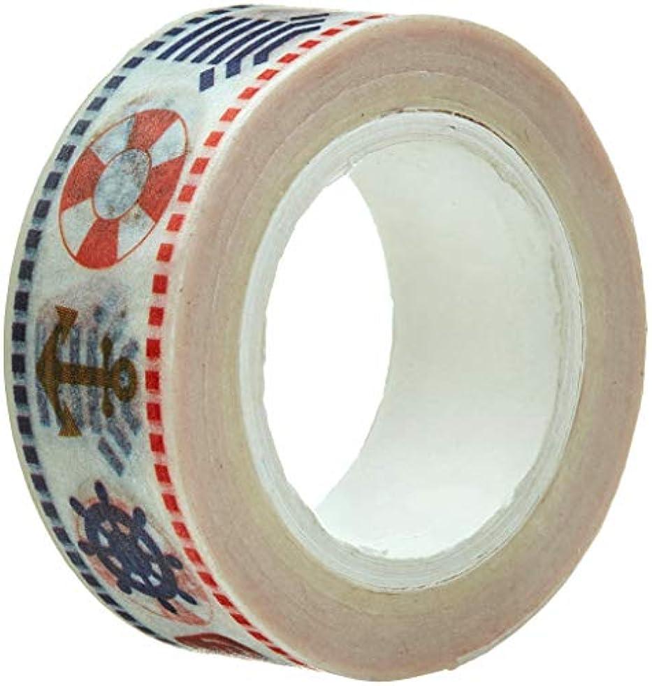 Wrapables A71296c Colorful Masking Tape, Nautical Washi,