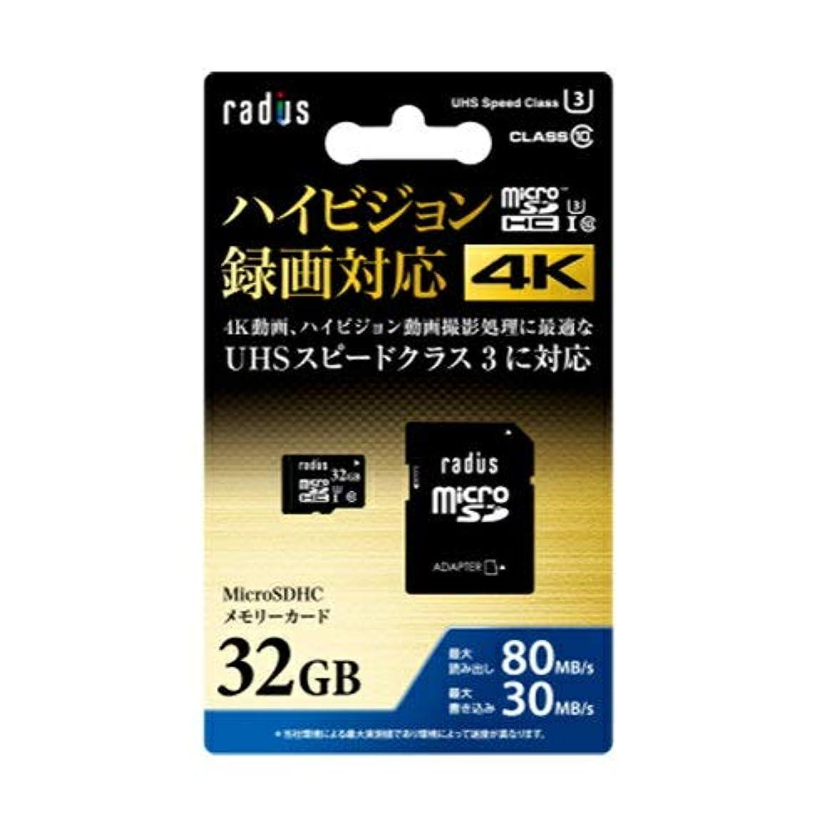 グッゲンハイム美術館チーズ交響曲ラディウス RP-MSX32U3 microSDHCカード 32GB CLASS10