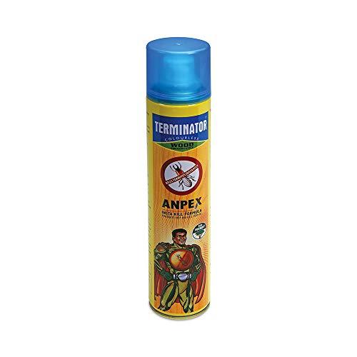Pidilite Terminator Eco-Friendly Termite Killer Spray Termite, Borer, Insect Repellant & Control - for Home, Kitchen and Wood Preservative (320 ml)
