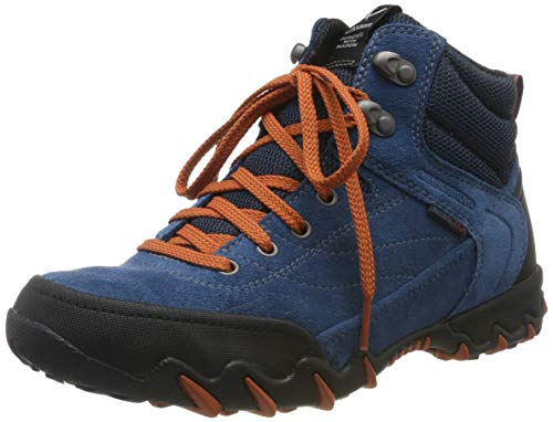 Allrounder by Mephisto Damen NIGATA-TEX Cross-Trainer, Blau (Black/True Navy Rubber 1/ Coresuede 22), 37.5 EU