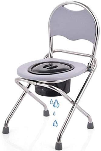 GUOZ Dusche Rollstuhl Mietklo Nacht Commodes ältere Person Schwangere Frau Behinderte Person Potty Stuhl für ältere Menschen, Schwangere Frauen,EIN