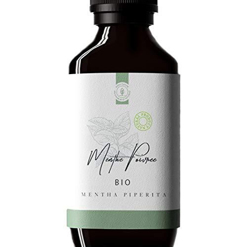 50ml Huile essentielle de Menthe Poivrée BIO (Mentha piperita) - 100% Pure, Naturelle et...