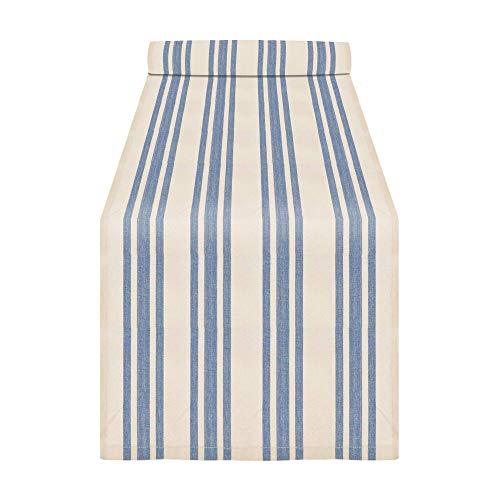 "Saro Table Linen, 16""x 72"", French Blue"