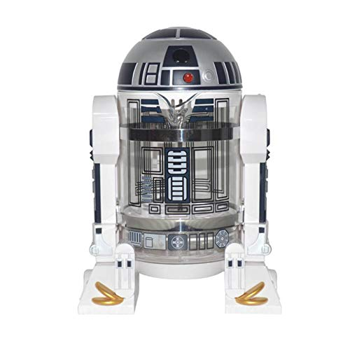 ASDFGT-778 Haushalts-Hand Stempel Kaffeemaschine Kaffeebereiter Pot Percolator Star Wars Mini-Kaffeemaschine Isolierung Topf for das Büro