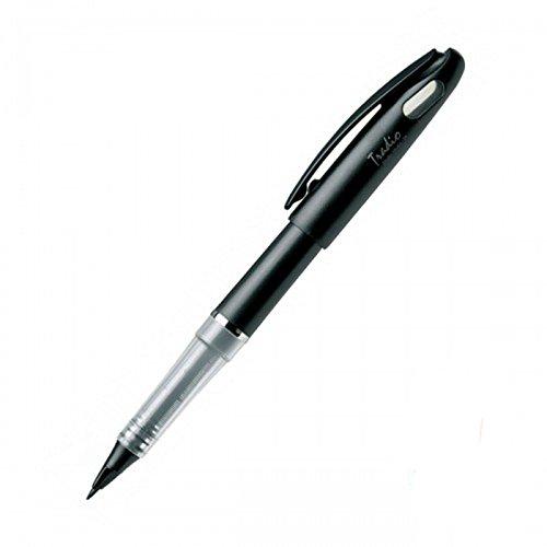 Penna Hibrida pennarello Pentel Tradio Stylo e cartuccia di inchiostro colore nero TRJ50NG 7107