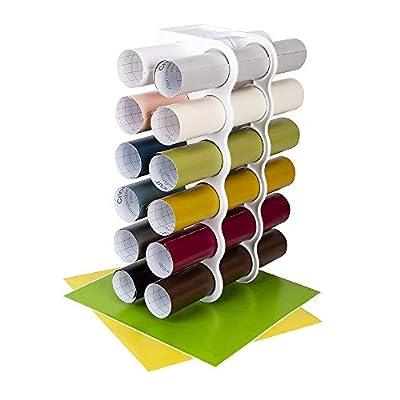 ArtBin Storage Tower Sheet Organizer for up to 36 Vinyl Rolls White