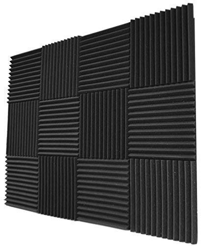 12 Pack- Acoustic Panels Studio Foam Wedges 1