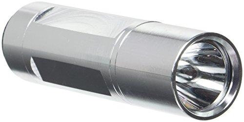 Prophete 1 watt LED-zaklamp met metalen behuizing, zilver, 646