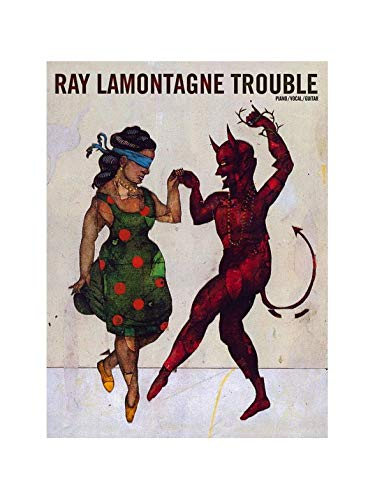 Ray LaMontagne: Trouble (PVG). Partituras para Piano, Voz y Guitarra