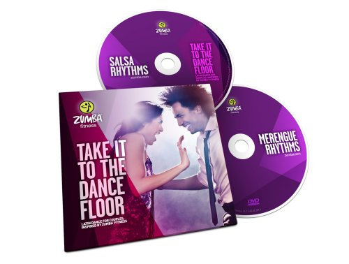 Zumba Fitness Take it to The Dance Floor 2 DVD Set