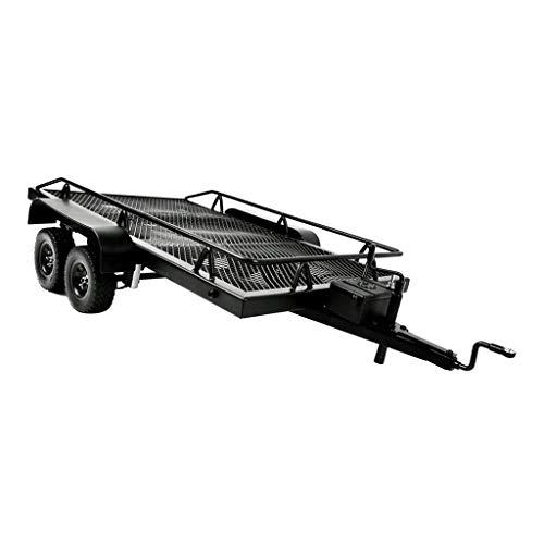 Hellery Escala 1/10 Modelo Juguete Remolque de Trabajo Pesado de Metal de Alto Rendimiento para Rock Crawler RC