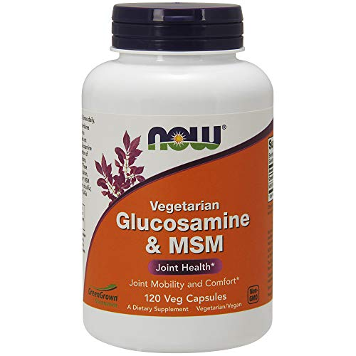 JOINT MOBILITY AND COMFORT*: Glucosamine is an essential building block for the formation of glycosaminoglycans (GAGs) and proteoglycans, the main components of cartilage tissue.* VEGAN CAPSULES: NOW Vegetarian Glucosamine & MSM combines two well-kno...