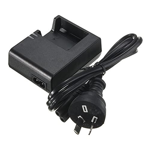 HANLILI kasu LC E10C LC-E10C LC-E10E LC E10E Cargador de batería Ajuste para la cámara Canon LP-E10 LPE10 E10 Kiss X50 EOS 1100D 1200D 1300D Apto para la cámara T3 (Color : AU Plug)