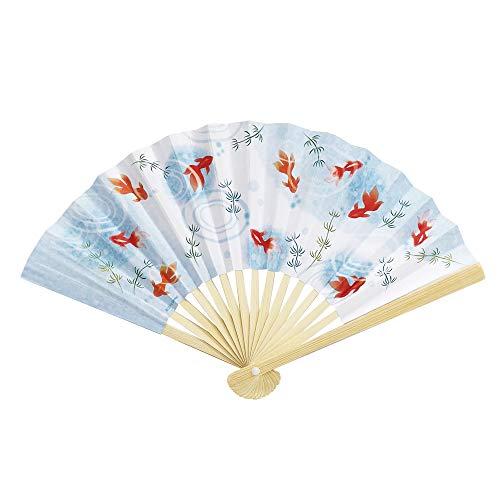 暑中見舞いカード ミニ扇子金魚 S4276