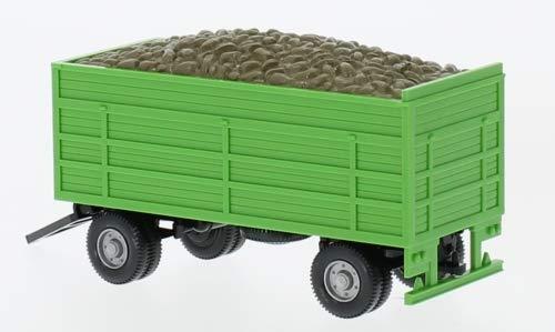 Anhänger Rübenanhänger, grün, 0, Modellauto, Fertigmodell, Wiking 1:87