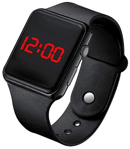 MJ Ragav Stylish New Digital Black Dial Led Watch for Kids Unisex Birthday Gift