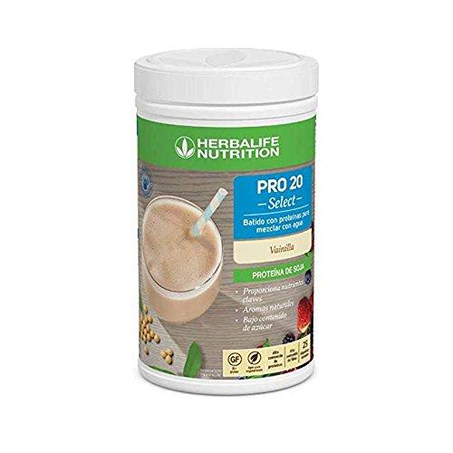 Herbalife PRO20 Select con Proteine Isolate della soia - Indicato per Vegetariani